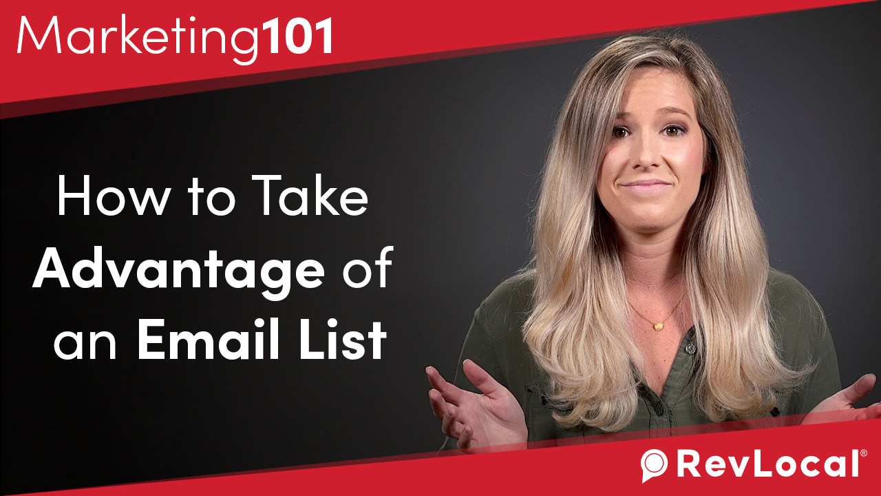 Marketing 101: How to Take Advantage of an Email List
