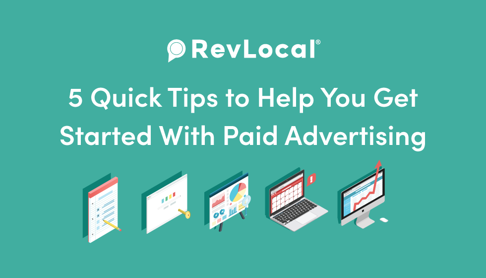 5 Quick Paid Advertising Tips [Infographic]