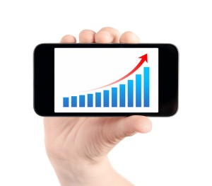 Mobile use growing at rapid speeds