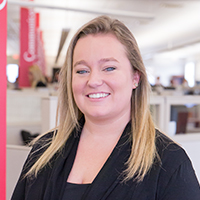 Digital Marketing Consultant, Courtney Davis