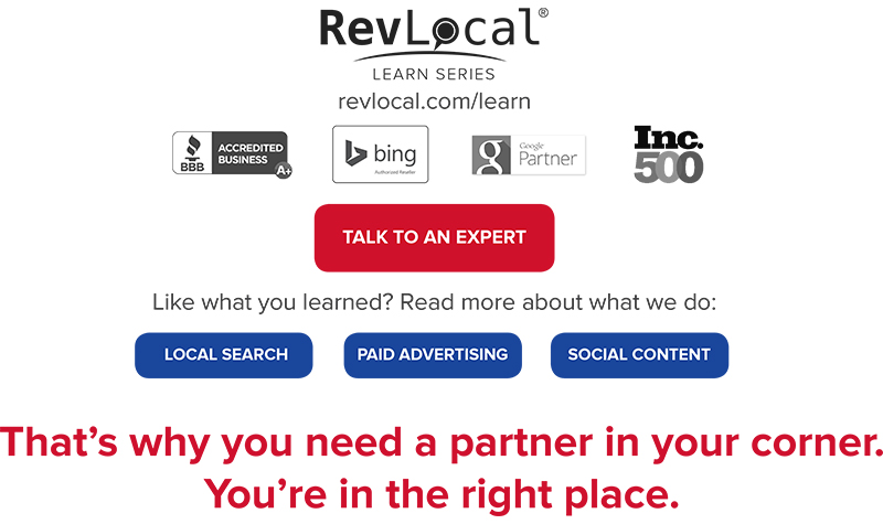 RevLocal Learn Series